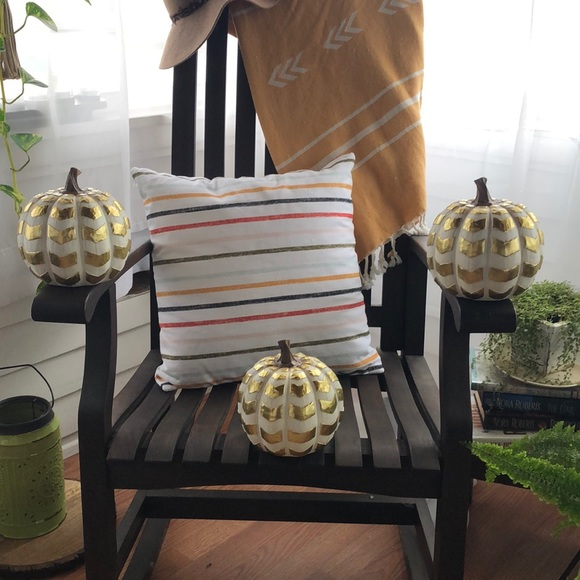 Robert Stanley Gold And Navy Christmas 2020 Robert Stanley Holiday | Fall Signature Collection Pumpkins | Poshmark